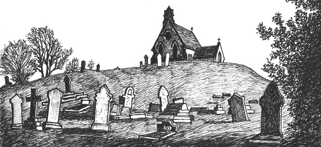 Illustration from A Brief History of Kimberley - Cemetery Chapel Kimberley