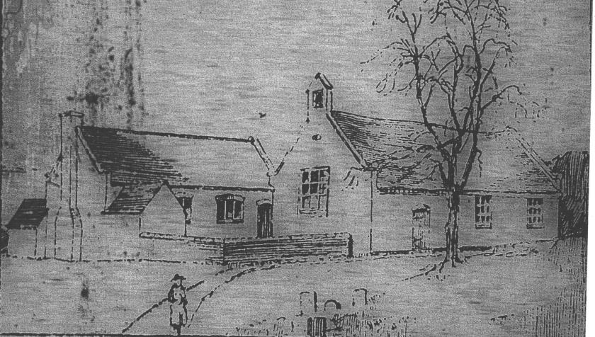The Old Church, Awsworth, Notts. 19th century